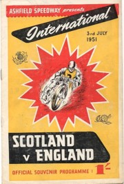 Scot v Eng 1951 Ashfield