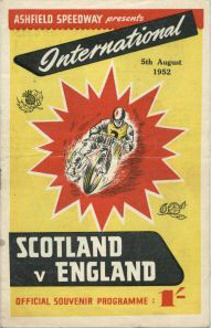 Scot v Eng 1952 Ashfield